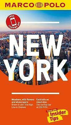 New York Marco Polo Pocket Travel Guide - with pull out map - 9783829707770
