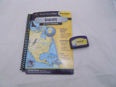 LeapFrog Leappad Quantum Pad Above&Beyond Interactive Book Cartridge Geography