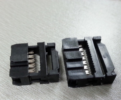 IDC 6-pin Mounting Plug for Connector Ribbon Flat Cable IDC6 Male #NE8