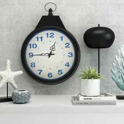 vidaXL Wall Clock Vintage 40cm Indoor Home Office Decorative Timepiece Gift
