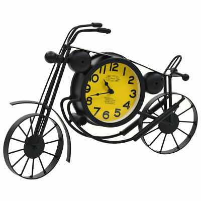 vidaXL Wall Clock Motorcycle Design Vintage Indoor Home Office Timepieces