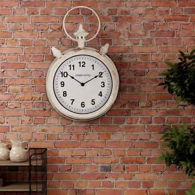 vidaXL Wall Clock Vintage 30cm Indoor Home Office Decorative Timepiece Gift