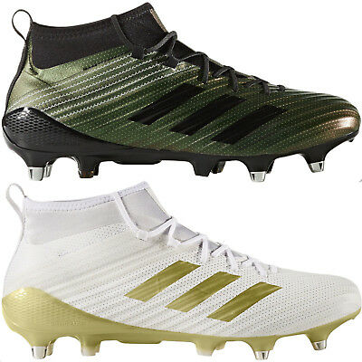 adidas Performance Mens Predator Flare Soft Ground Hi Top Sock Rugby Boots