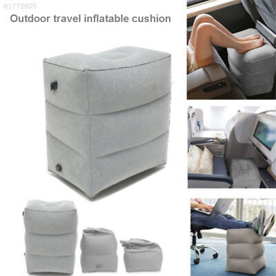 8B6E Inflatable Foot Rest Travel Air Pillow Cushion Office Home Leg Up Footrest