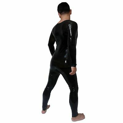 Brand New Latex Full Rubber Black Body Suit Catsuit (one size)