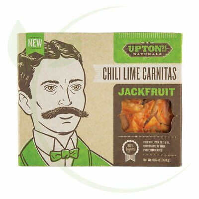 UPTON'S NATURALS - Jackfruit Chili Lime Carnitas 300g