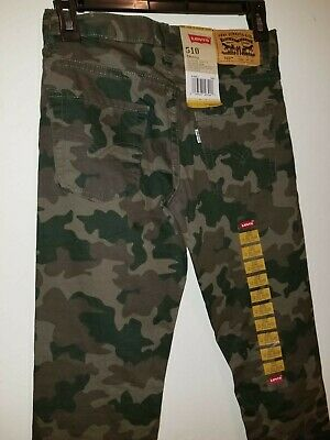 Levis 510 Men/ Boys Camo pants 26 x 26