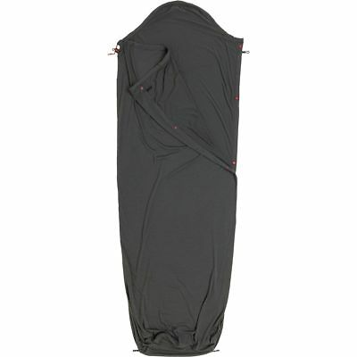 Big Agnes Sleeping Bag Liner Gray-Wool LONG