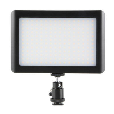 Dimmable 192 LED Video Lamp Light Panel para Canon DSLR Camera Camcorder DC764