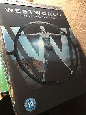 Westworld Season One The Maze DVD Box Set Region 2 UK