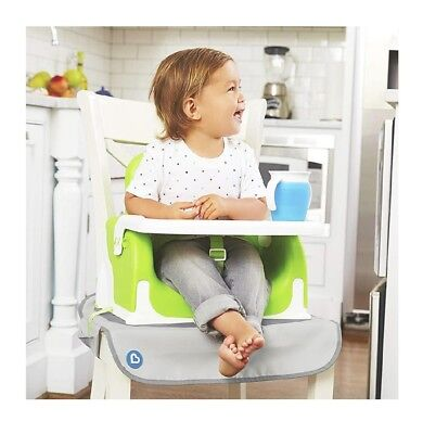 Munchkin Chair Protector for Booster Seat, Grey