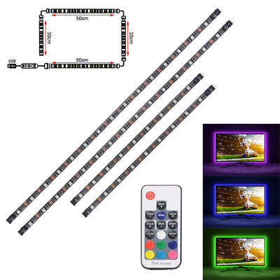 LED RGB Strip Light DIY Background Lighting Backlight for TV PC Laptop LD1544