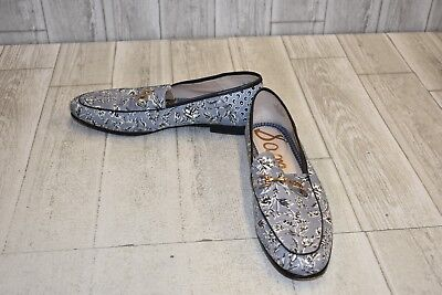 2279b37b2 SAM EDELMAN LORAINE Bit Loafers, Women's Size 10M, Blue Leaf Print ...