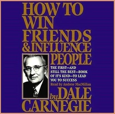 How to Win Friends & Influence People by Dale Carnegie (audio book, e-Delivery)