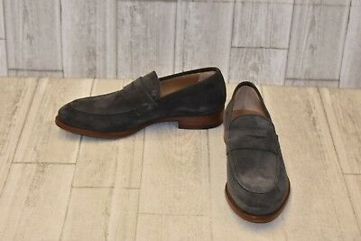 56fa18bd767 GORDON RUSH DANIEL Penny Loafer - Men s Size 7 Charcoal -  103.20 ...