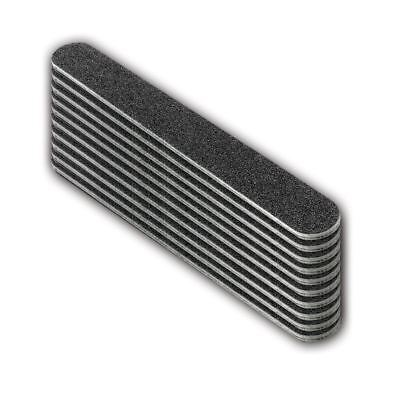 The Edge Duraboard File 100/180 pack of 10 Grit curve files acrylic tip gel