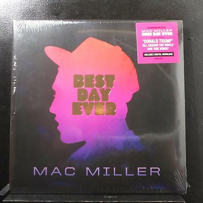 Mac Miller - Best Day Ever 2 LP New Sealed RSTRM-294LP USA 2016 1st Record
