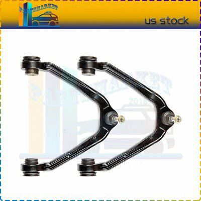 2 Pair New Front Upper Control Arms Ball Joints Fits For 2000-06 Chevy Tahoe