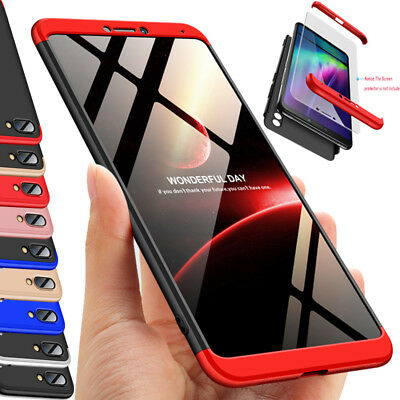 For Huawei Honor Note 10  Thin 3 in 1 Hard Shockproof Case 360° Full Protective