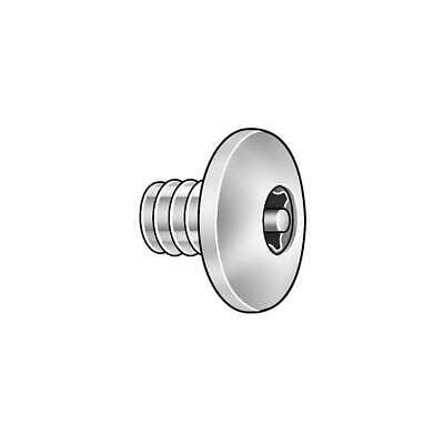 GRAINGER APPROVED 18-8 Stainless Steel Binding Screw,3/8 In L, 5MA42