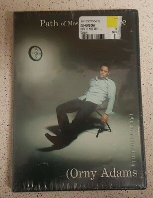 Orny Adams - Path of Most Resistance DVD / CD RARE OOP BRAND NEW! Stand-Up Comic