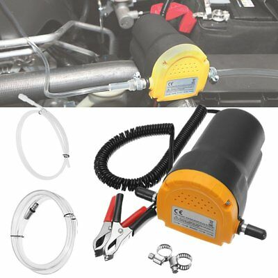 12V DC 60W Extractor Suction Pump Car Motor Oil Transfer Fluid Change Home SS