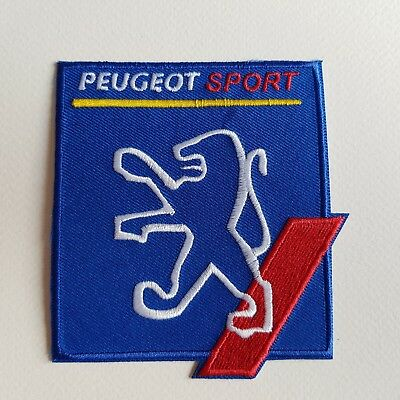 A424 // Ecusson Patch Aufnaher Toppa / Neuf / Peugeot Sport 8,5*10 Cm