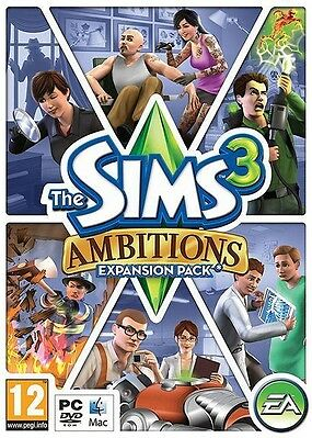 The Sims 3 Ambitions Expansion Pack PC / MAC Origin Key
