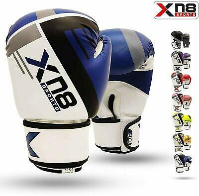 XN8 Boxing Gloves Punch Bag MMA Training Muay Thai Fighting Sparring Kickboxing