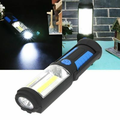 LED Torch Lamp Emergency Camping Work Battery Operated Night Light Flashlight
