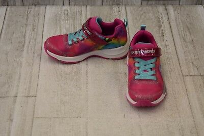 477fb83a9be0   SKECHERS JUMPTECH DREAMY Daze Sneaker - Little Girls Size 11