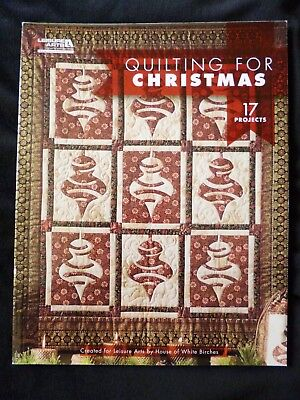 Quilting for Christmas 17 Projects by House of White Birches  SALE NEW IMPERFECT