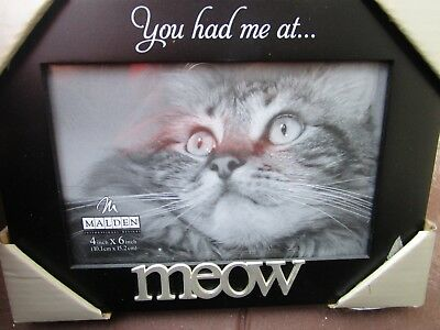 Meow Picture Frame 4 X 6 Picture New 1199 Picclick
