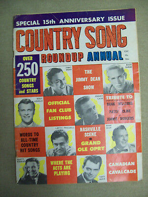 Country Song Roundup Annual 1964 Fall