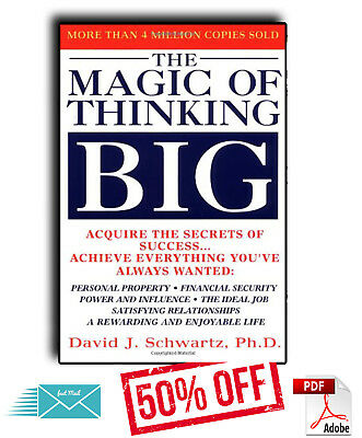 The Magic of Thinking Big by David J. Schwartz (PDF)(EB00K) %50