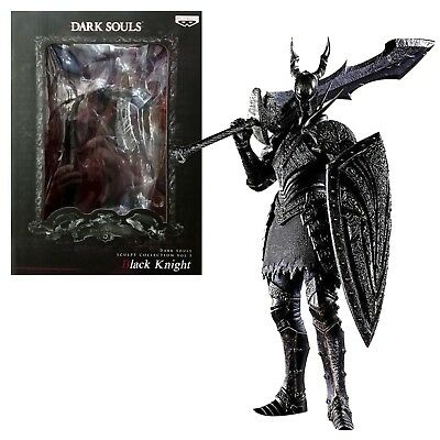 Dark Souls II Figure Black Knight Originale Banpresto Videogame Videogioco