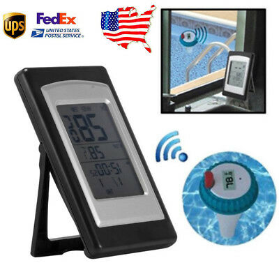 Wireless Digital Floating Temperature Pond Spa Bath Thermometer Swimming Pool