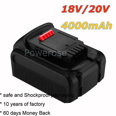 4.0AH 20V Li-ion Battery For Dewalt DCD785 DCB180 DCB181 DCB182 DCB201 XR Combi