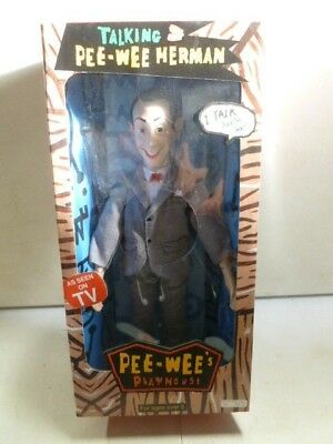 2000 Talking Pee-Wee Herman Pee-Wee's Play House Doll