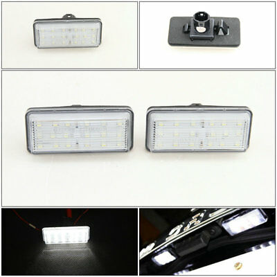 LED Number License Plate Light Lamp For Toyota J100 J120 J200 Land Cruiser