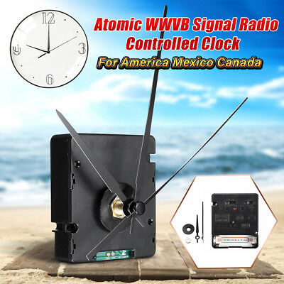 Atomic US WWVB Signal Radio Quartz Clock Movement Kit For America Mexico Canada