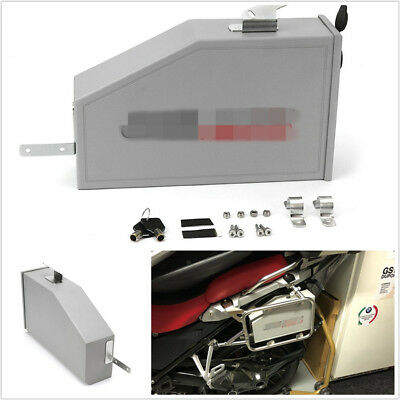 5L Aluminum Motorcycle Bikes Box Toolbox For 2014-2018 BMW R1200GS LC Adventure