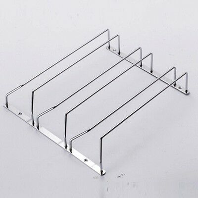 3 Row Wine Glass Rack Home Dining Bar Tool Shelf Holder Hanger Cabinet Stand WE9