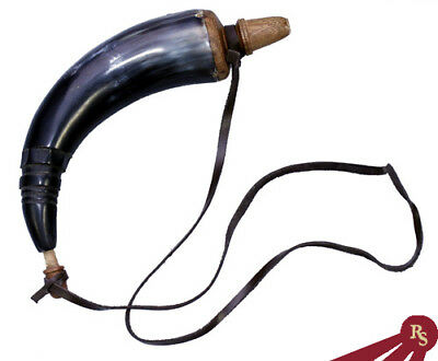 GUN POWDER HORN Musket, Horns, Powderhorn FUNCTIONAL