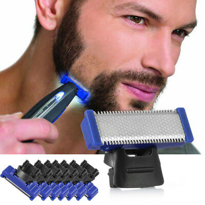 8Pack Replaceable Shaver Head Stainless Steel For MicroTouch Solo Electric Razor