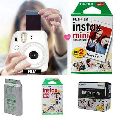 10/20PC Sheet Fujifilm Instax Mini Film Fuji Instant Photos 7s 8 25 90 Polaroid