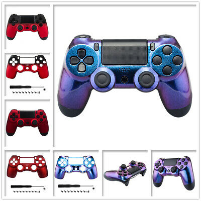 Customized Faceplate Top Housing Shell Cover Repair Kits for PS4 Game Controller