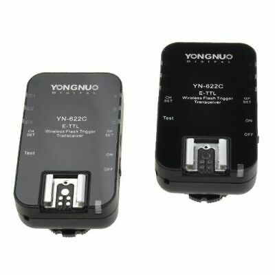 Yongnuo YN622C TTL Wireless Flash Trigger 1/8000s Flash Ratio for Canon 5D 300D