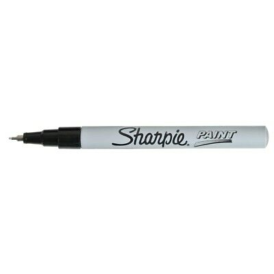 Sharpie Extra-Fine Point Oil-Based Paint Markers - White  - Extra-Fine Point,