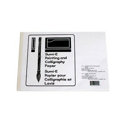 """Sumi-E Painting & Calligraphy Papers - 9X12""""  - 9X12"""""""